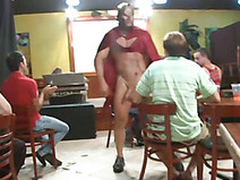 Cute young house-servant loves to suck dick at parties