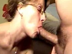 Deb's Suntanned depths Throat 5